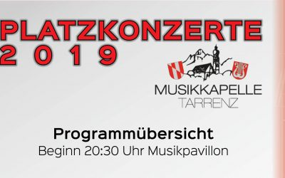 Platzkonzerte 2019