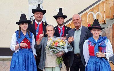 80. Geburtstag Ehrenmitglied HERMANN REICH